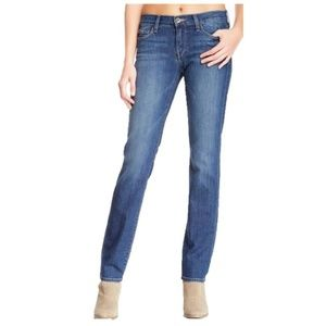 Lucky Brand Sofia Straight Distressed Jeans 4/27